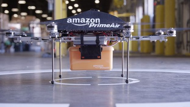 Amazon details drone delivery plans