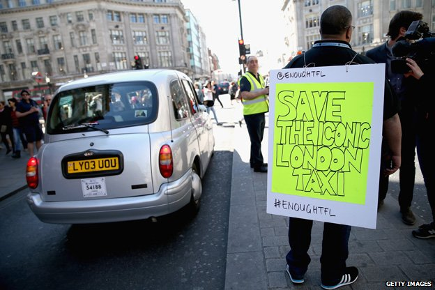 Bbc News Is Uber Already Harming The Traditional Taxi
