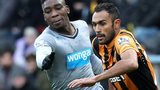 Sammy Ameobi and Ahmed Elmohamady