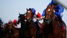 Night Of Thunder wins the Lockinge Stakes at Newbury