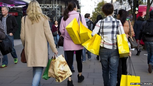 UK inflation rate turns negative
