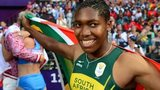Caster Semenya at the 2012 Olympics in London