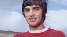 Manchester United legend George Best