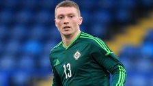 Caolan Lavery is promoted from the Northern Ireland U21 squad