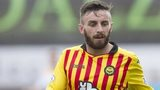 Partick Thistle midfielder Steven Lawless