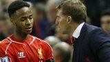 Raheem Sterling and Brendan Rodgers
