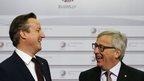 David Cameron and Jean Claude Juncker