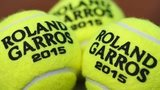 Official French Open tennis balls