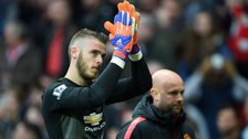 Manchester United goalkeeper David De Gea