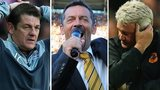 John Carver, Phil Brown and Steve Bruce
