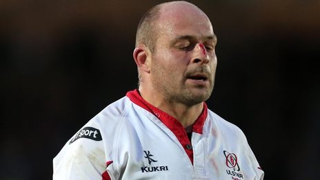 Rory Best shows his dejection after Ulster's Pro12 semi-final defeat