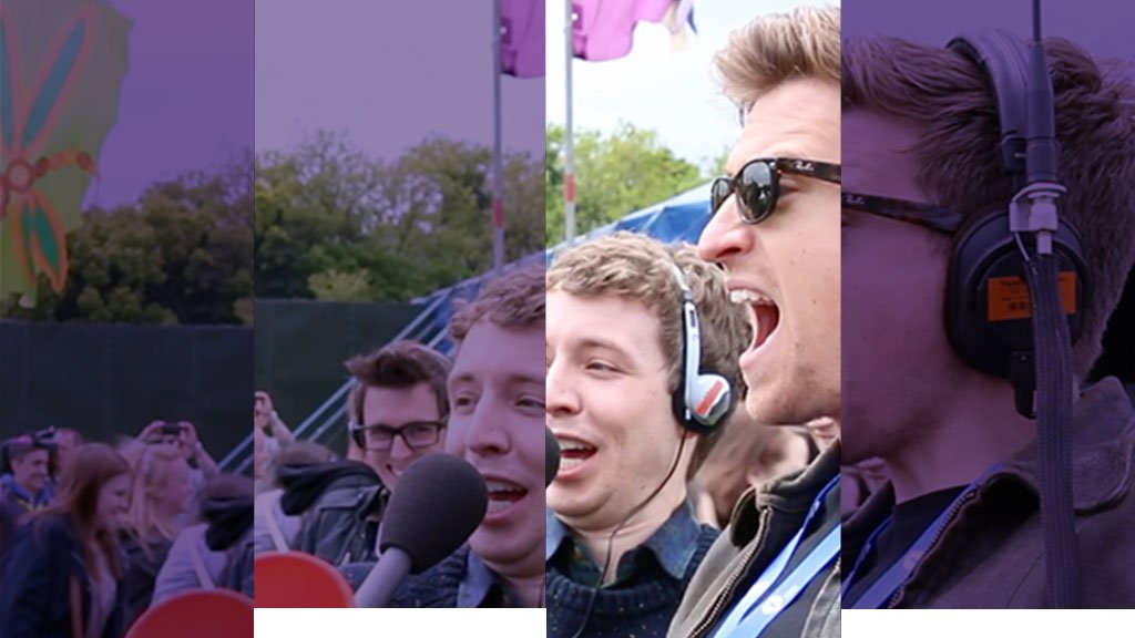 Matt Edmondson and Greg James