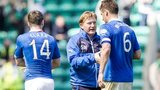 Rangers held on for a 2-1 aggregate win against Hibernian