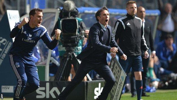 Hamburger SV vs Schalke 04