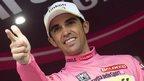Contador reclaims Giro pink jersey
