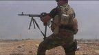 Fighter in Iraq
