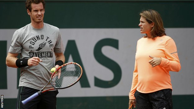 Andy Murray & Amelie Mauresmo