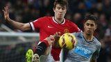 Paddy McNair challenges Newcastle United's Ayoze Perez