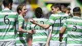 The champions were comfortable winners at Celtic Park