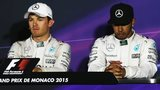 Nico Rosberg and Lewis Hamiton