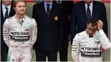 Nico Rosberg and Lewis Hamiton