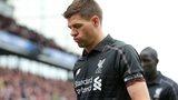 Gerrard looks dejected
