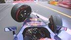 VIDEO: Verstappen crash leads to safety car