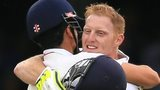 Ben Stokes and Alastair Cook