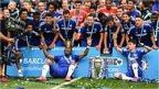 VIDEO: Chelsea celebrate title win