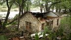 One of several hundred homes destroyed in Wimberley, Texas, 24 May