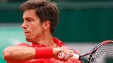 British number two tennis player Aljaz Bedene