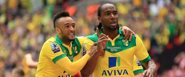Nathan Redmond and Cameron Jerome