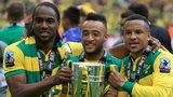 Cameron Jerome, Nathan Redmond and Martin Olsson