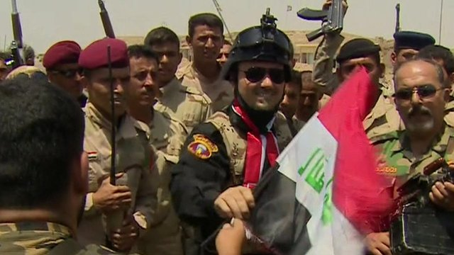 VIDEO: Meet the militias battling IS in Iraq...