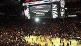 Fans stuck in Houston due to flash flooding
