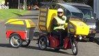 NZ Post's Kyburz three-wheeler
