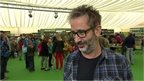 David Baddiel interview at the Hay Literary Festival