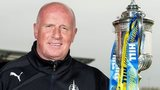 Falkirk manager Peter Houston