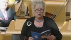 SNP MSP Christine Grahme