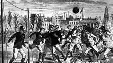 Football in the 1870s