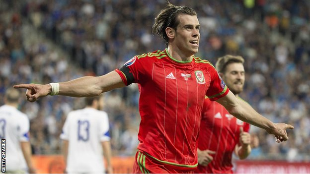 Gareth Bale has scored four goals in five games for Wales this season