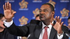 Fifa vice-president Jeffrey Webb in a library picture