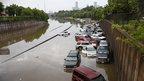 Flooding in Houston