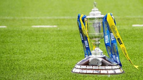 Scottish Cup trophy
