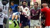 Ronnie Radford, Graeme Sharp, Ryan Giggs, Paolo Di Canio, Wayne Rooney