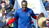 Edward Ofere is applauded by Inverness fans