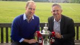 Prince William and Gary Lineker