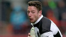 Alex Cuthbert scored two tries for the Barbarians