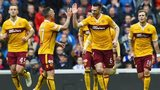 Motherwell were 3-1 winners at Ibrox