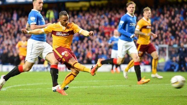 83291307 ainsworthgoal - Scottish Premiership 2014-15